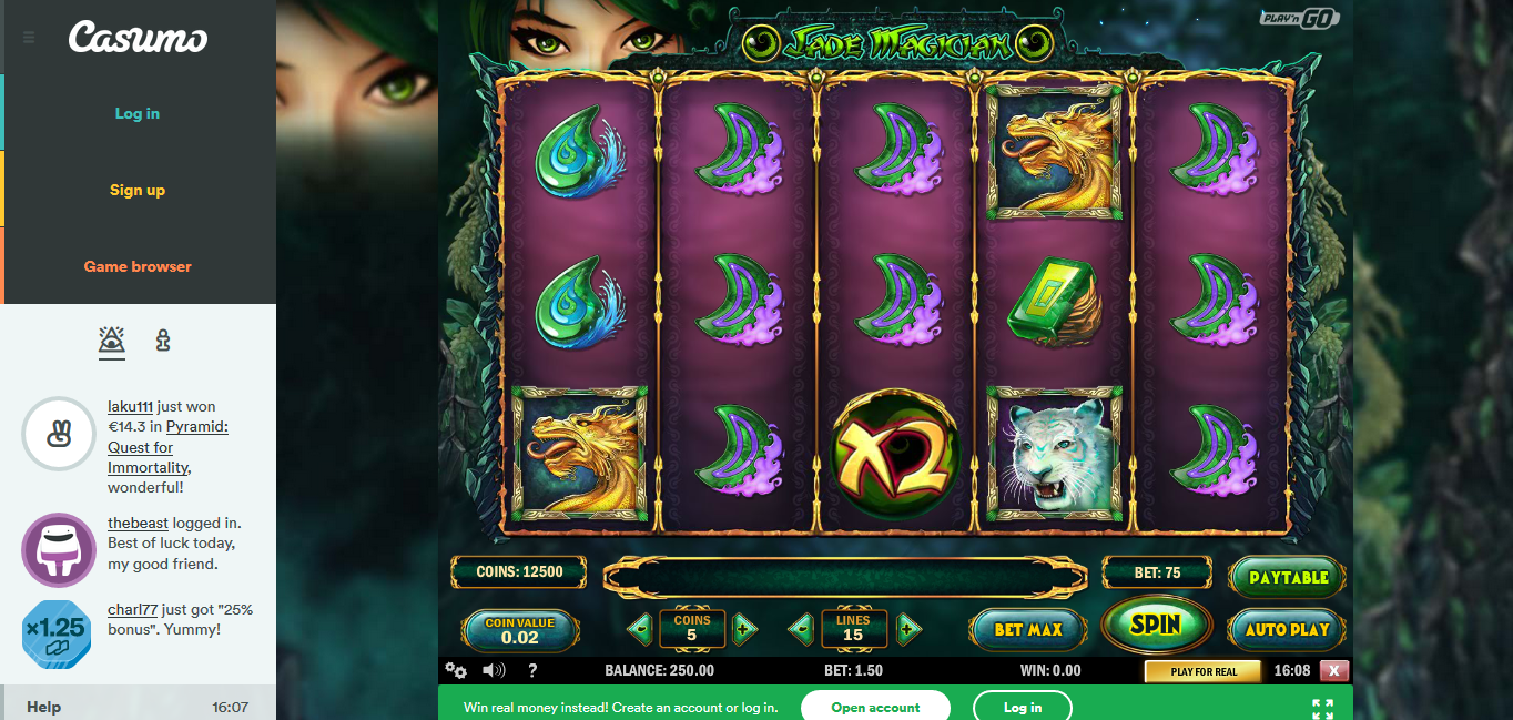 30 free Spins - 17385