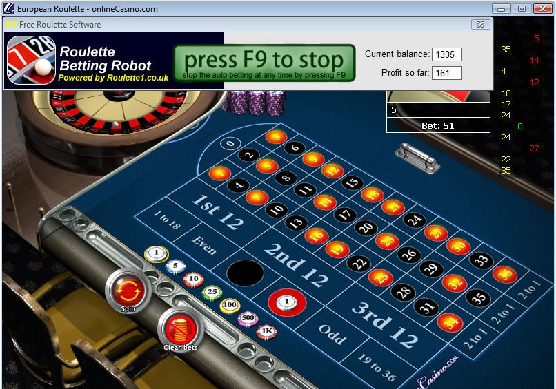 Roulette System - 86019