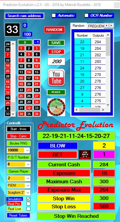 Roulette System Software - 51036