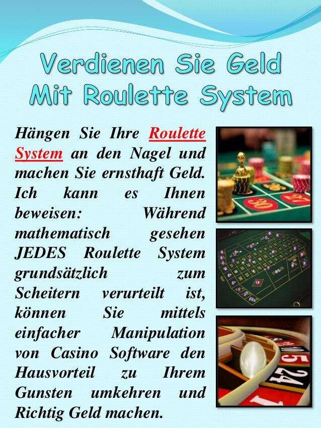 Roulette System Software - 21041