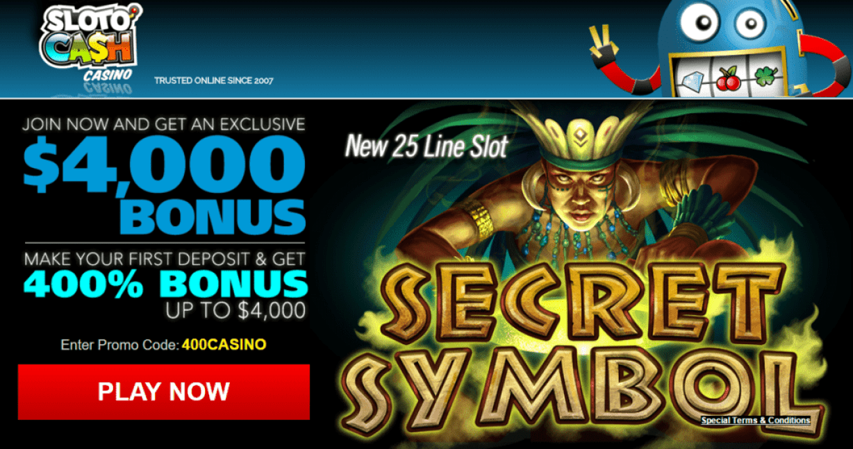 Secret Casino Bonus - 72431
