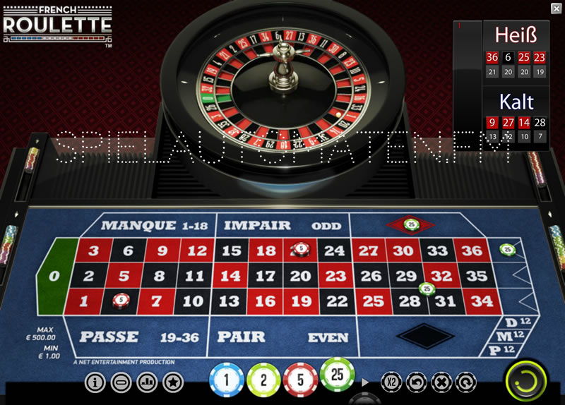 Roulette 0 besondere - 42504