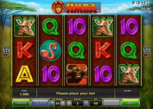 African Simba online - 43352