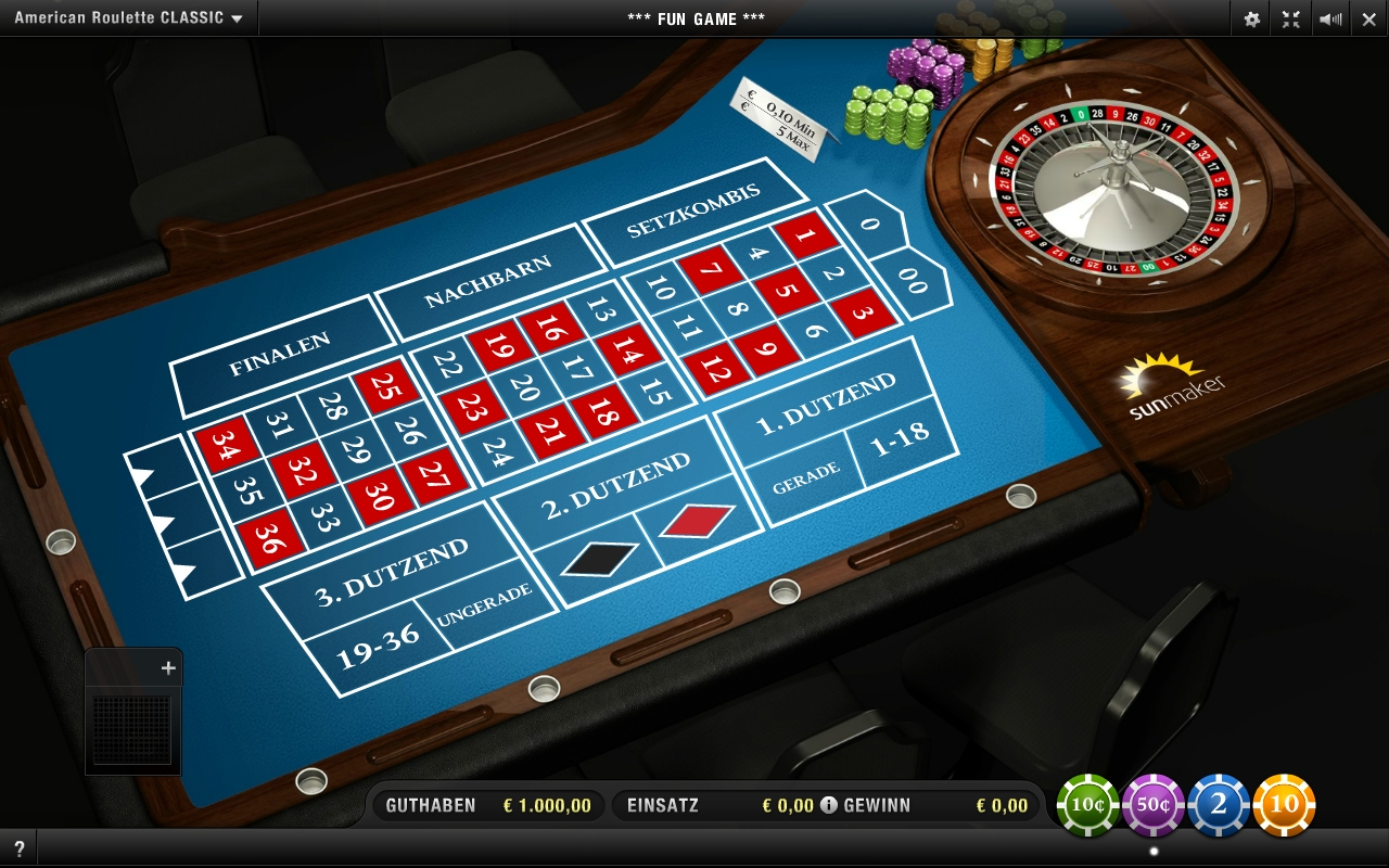 American Roulette - 99257