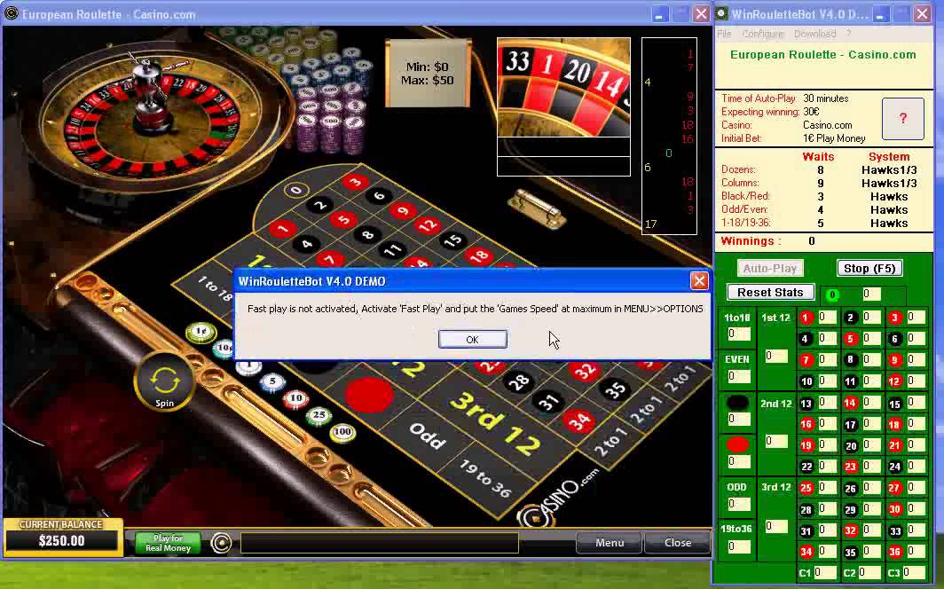 Roulette System Software - 35153