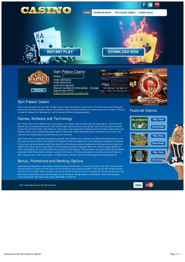 Spin Casino download - 85950