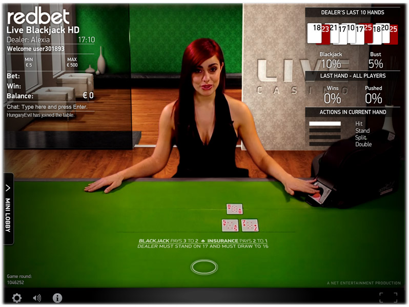 Strategie Blackjack Redbet - 66151
